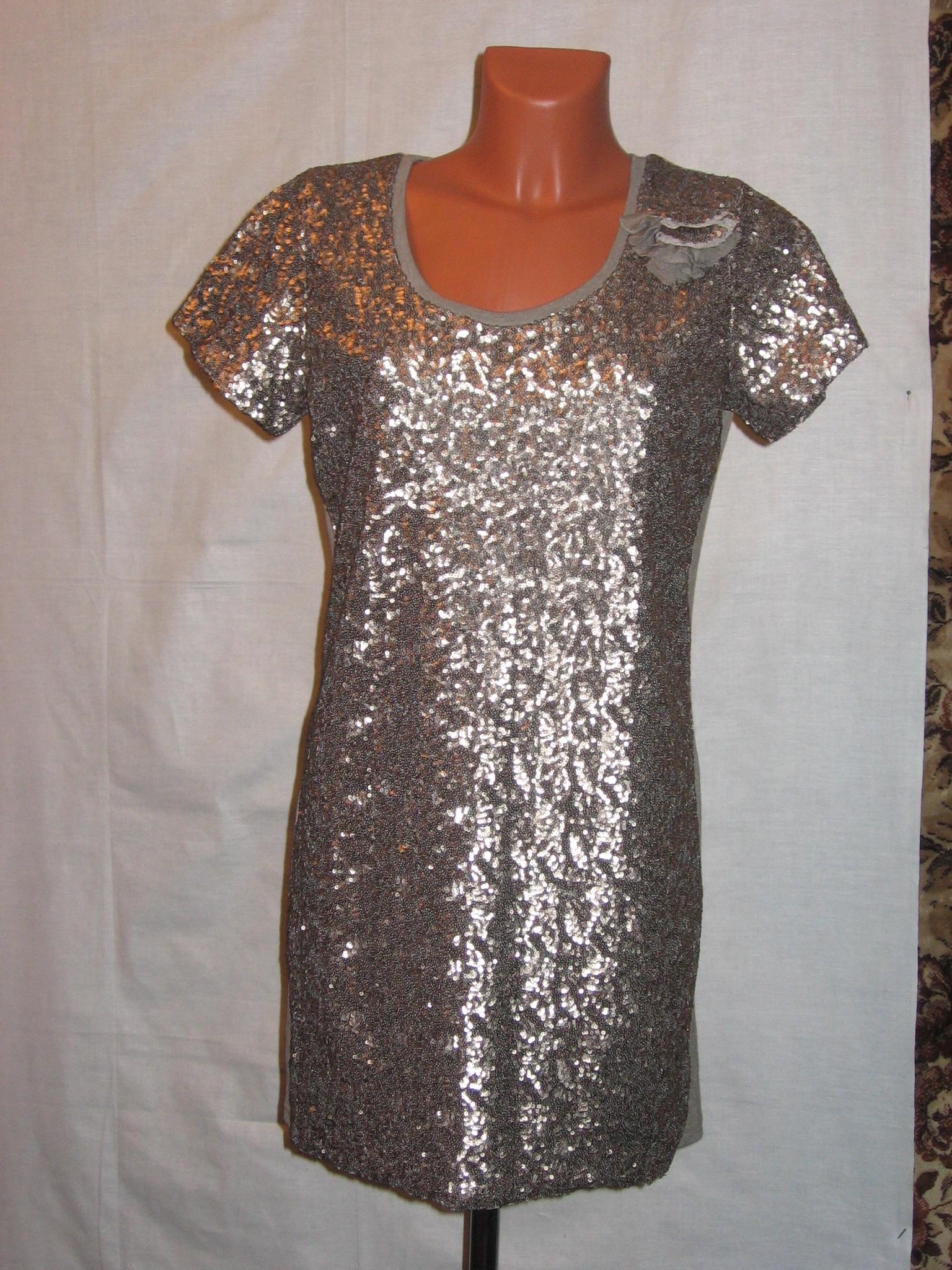 Платье пайетки своими руками